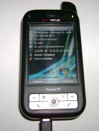 for sale verizon audiovox xv6700 pocket pc rh newcougar org Cingular 8525 Sprint PPC -6700