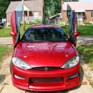 My Red Cougar!