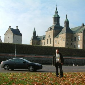 Me, Vadstena castle and a Cougar